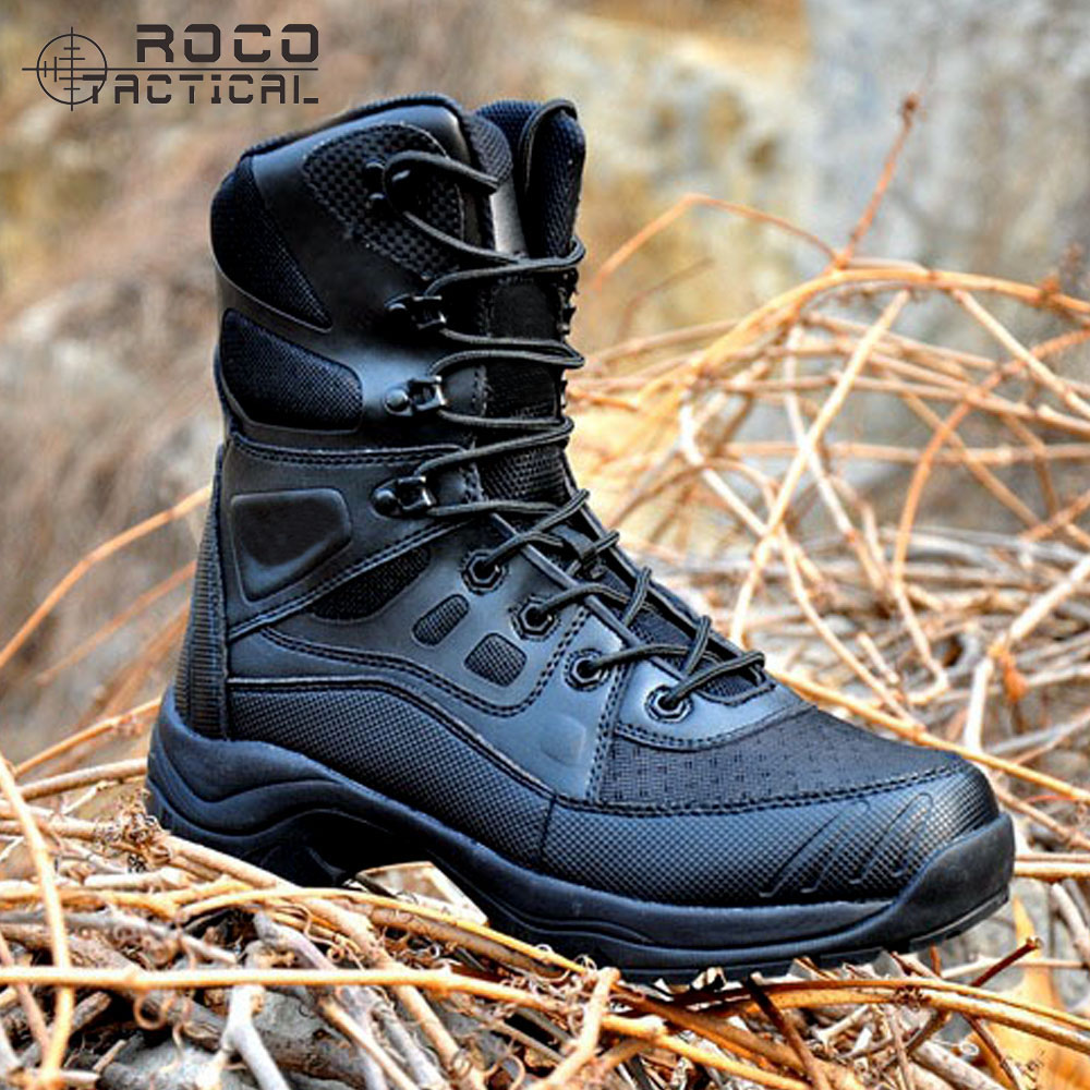 Mens Tactical Boots Lightweight Combat Boots US Army Tactical Jungle Boots for Swat Airsoft Paintball Options in Two Colors auto cool