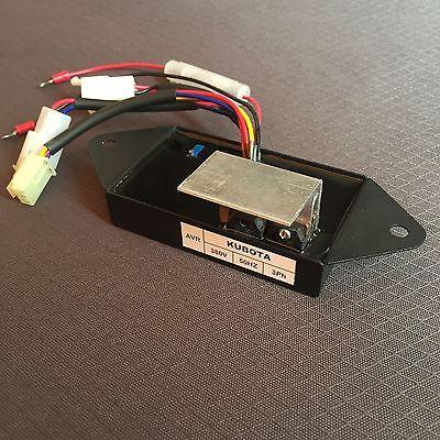 Automatic Voltage Regulator AVR For KUBOTA J310 J312 J315 J320 J324 Generator XWJ