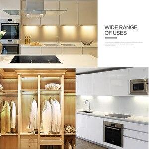 Image 5 - LED Bar light 5W/6W/7W Hand Sweep Sensor Switch Kitchen Light DIY Home Under Cabinet 12V LED Tube Hand Scan Motion LED Lamp