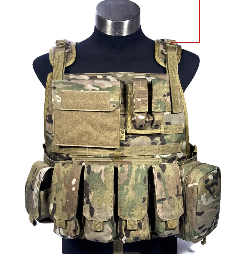 light tactical vest CS outdoor combat vest suit Cordura 1000D stock VT-M003