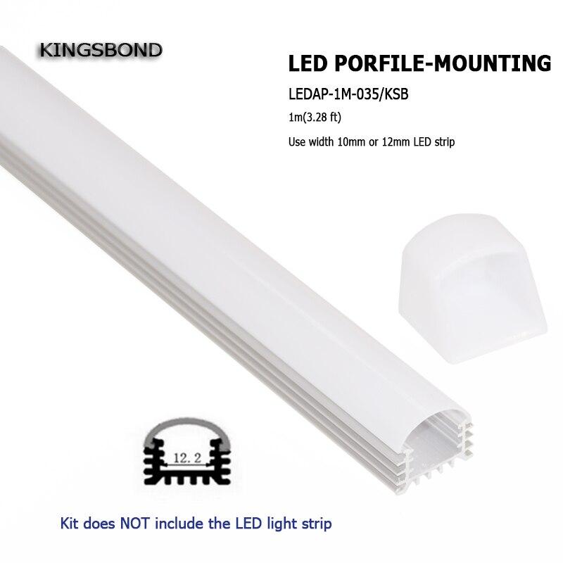 10 հատ * 1 LED անկում Ալյումինե ալիքային - Լուսավորության պարագաներ - Լուսանկար 2