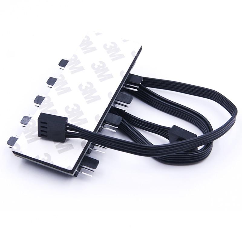 10 vrat PWM 4pin CPU hladilnik / ohišje / podvozje Hladilni - Računalniški kabli in priključki - Fotografija 6