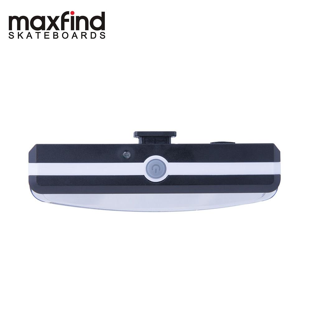 Maxfind Black Color Transparent LED Light Skateboard Wheels Riding Durable Longboard Skateboard Wheel