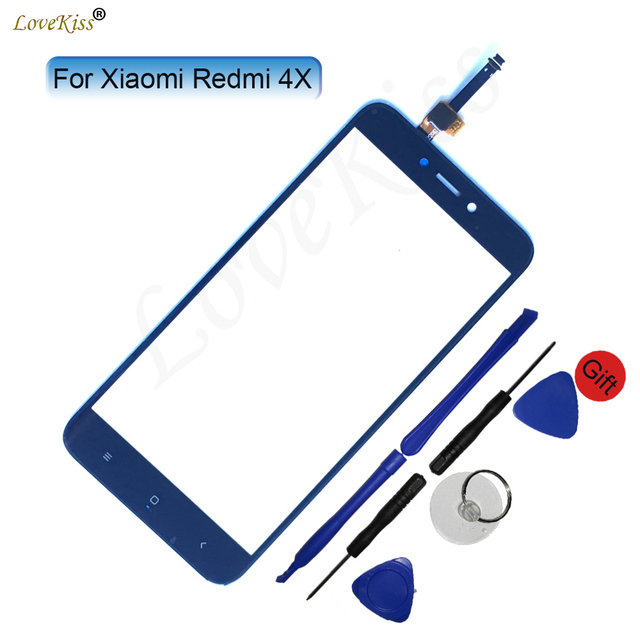 Redmi 4X Touch Panel Digitizer For Xiaomi Redmi 4X Touch Screen Sensor LCD Display Front Outer Glass TP Lens Cover Replacement