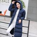 Wadded Mulheres Jaqueta de Algodão Novo Casaco de Inverno Moda Feminina Quente Parkas Com Capuz Para Baixo das Mulheres Casaco Jaqueta Casual Plus Size 3XL JW085