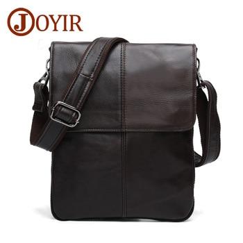 Marque de luxe hommes sac à bandoulière homme en cuir de vache sac à bandoulière Vintage Design Menssenger sac solide doux polyvalent hommes sacs à main