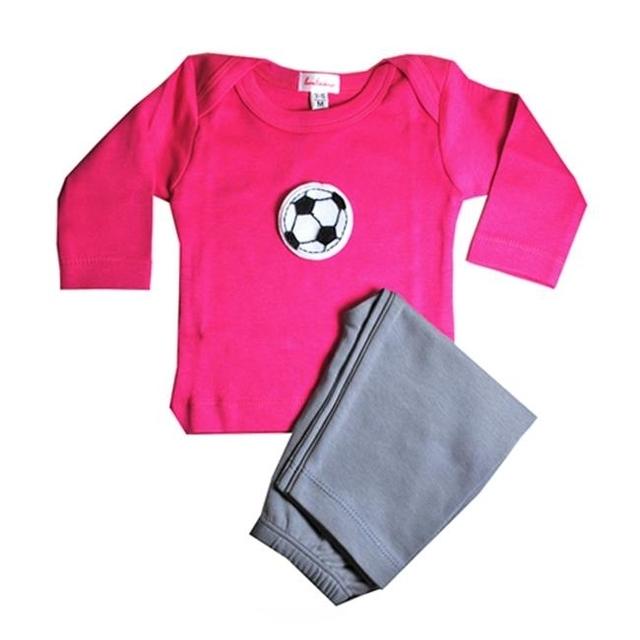 Loralin Design GFS3 Soccer Outfit – Fuchsia 3-6 Months