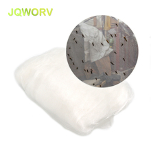 hot deal buy jqworv high-density polyethylene 60mesh anti bird net insect net trap pest control used for orchard vegetable garden repellents