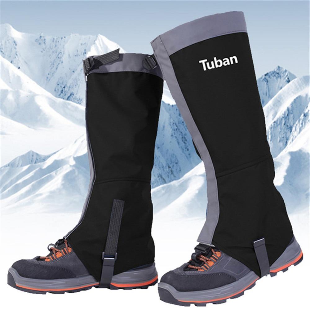 Waterproof Snow Skiing Boots Gaiters Men Women Shoes Cover Outdoor Sport Hiking Trekking Climbing Leg Gaiters Cover