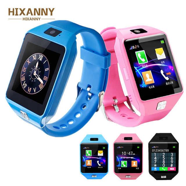 DZ09 ساعة ذكية الكبار الاطفال 2.0 متر كاميرا بلوتوث دعوة Smartwatch دعم SIM TF بطاقة ل IOS أندرويد الهاتف الأطفال الرجال ساعة
