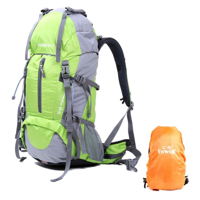 Unisex Outdoor Backpack Trekking Travel 40L Rucksack Camping Hiking Trekking Camouflage Bag тени для век essence тени хайлайтер hi lighting eyeshadow mousse 01 цвет 01 hi ivory variant hex name fdece4