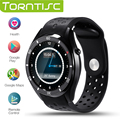 Torntisc i3 android 5.1 os smart watch mtk6580 512 mb + 4 gb apoio 3g wifi gps google play monitoramento da freqüência cardíaca para ios android