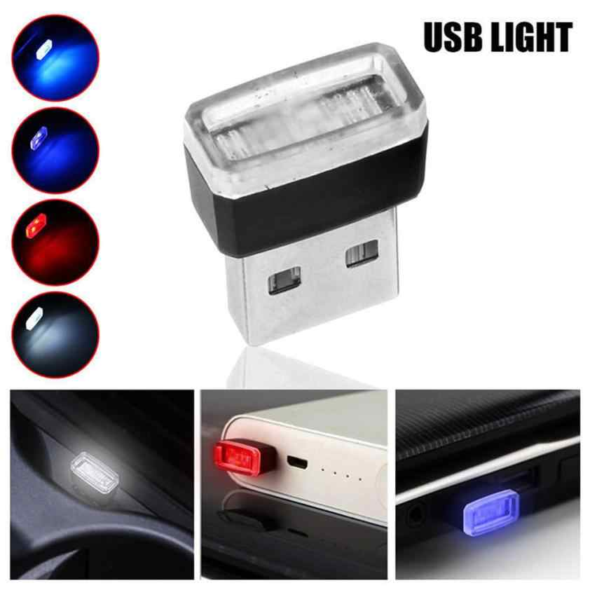 Car light bulbs USB LED mini Wireless Car Interior Lighting Atmosphere Light Accessory Universal auto led light            may9