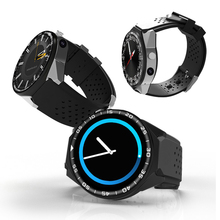 """ZGPAX S99C 1.39"""" IPS Touch Android 5.1 OS MT6580 Quad-core GSM 3G Smart Watch 16G ROM WiFi GPS 2.0MP Camera Bluetooth 4.0."""