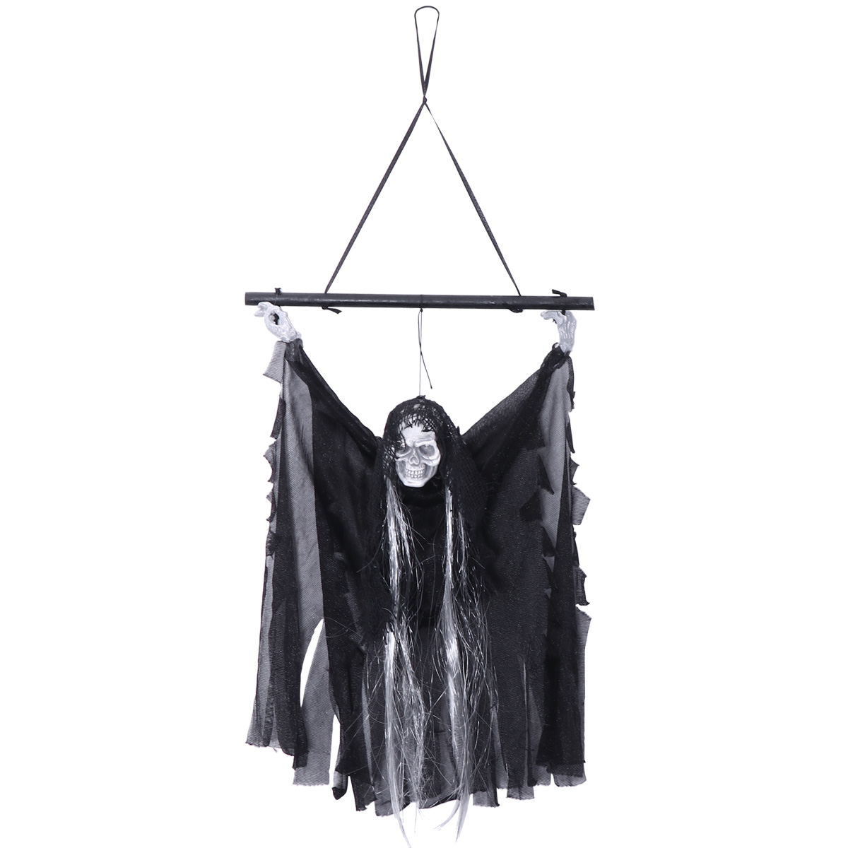 Sound Control Creepy Hanging Scary Ghost Skull Skeleton