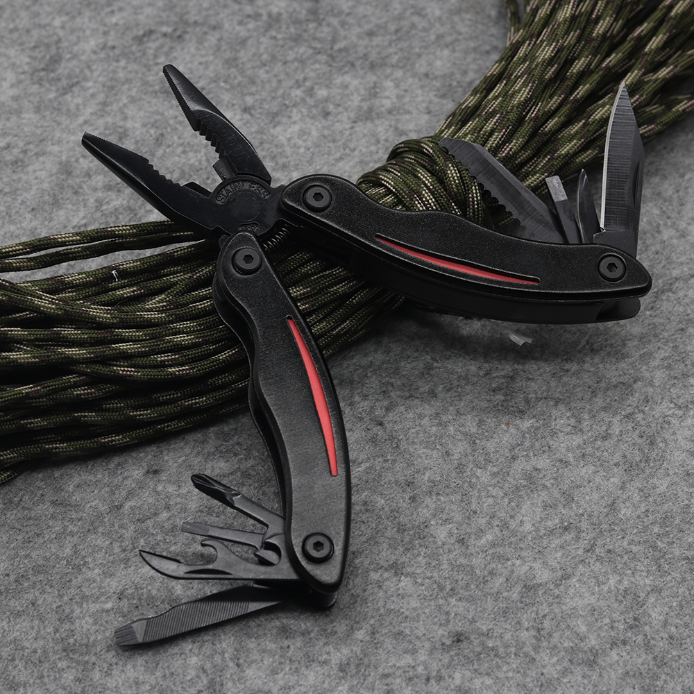 Hi-Q Black 12 in 1 Pinze multiuso per utensili da tasca Pinza - Utensili manuali - Fotografia 4