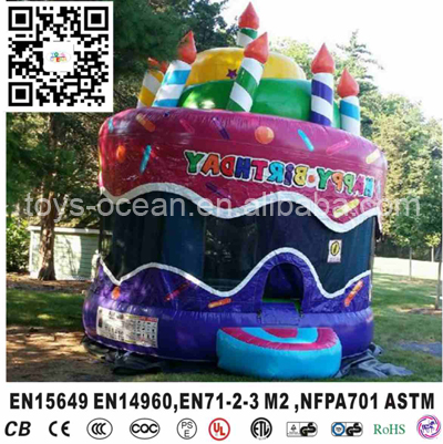 inflatable birthday cake bouncer house kids bounce house for sales - Bounce House For Sale