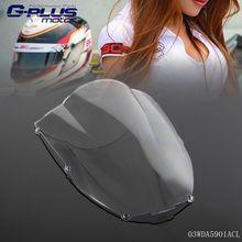 Motorcycle Racing Windscreen Windshield For Kawasaki ZX-6R 00-02