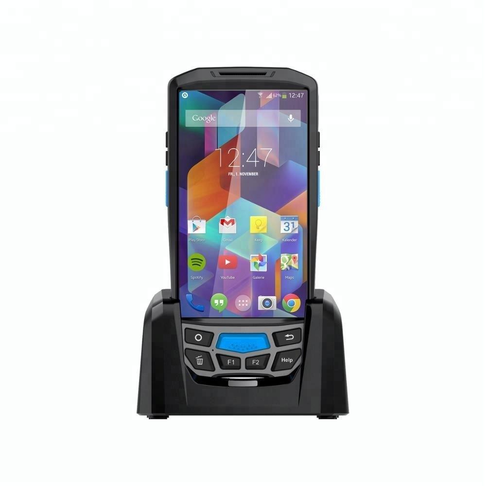 5 Inch Touch Screen 4g Bluetooth 4800 Mah Batterij 6603 Honeywell Pda Qr Code Scanner Android Pda Printer