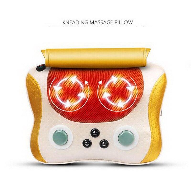 140607/Cervical massage neck waist back shoulder multi-function home electric lumbar instrument massage pillow детская футболка классическая унисекс printio игровая приставка денди