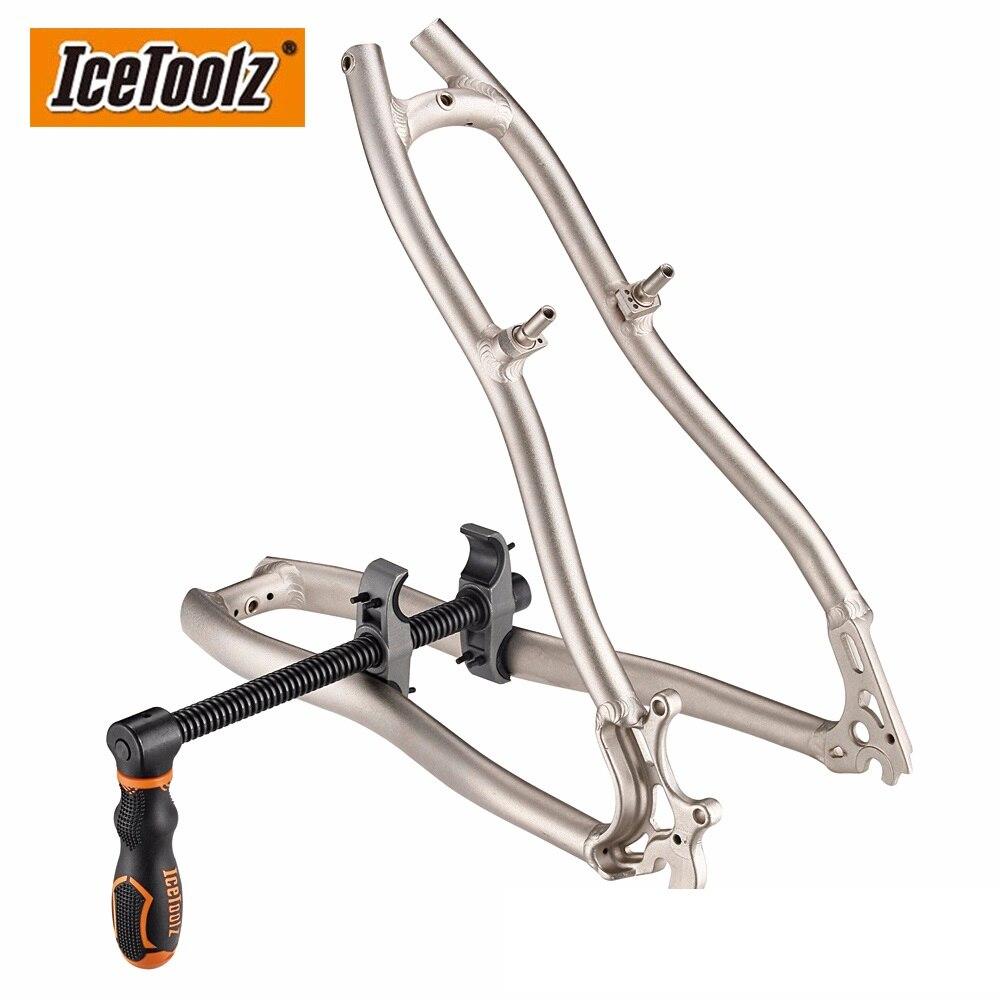 Icetoolz cadre & fourchette ajusteur outil de réparation entretien VTT vélo Multi outil de réparation E263