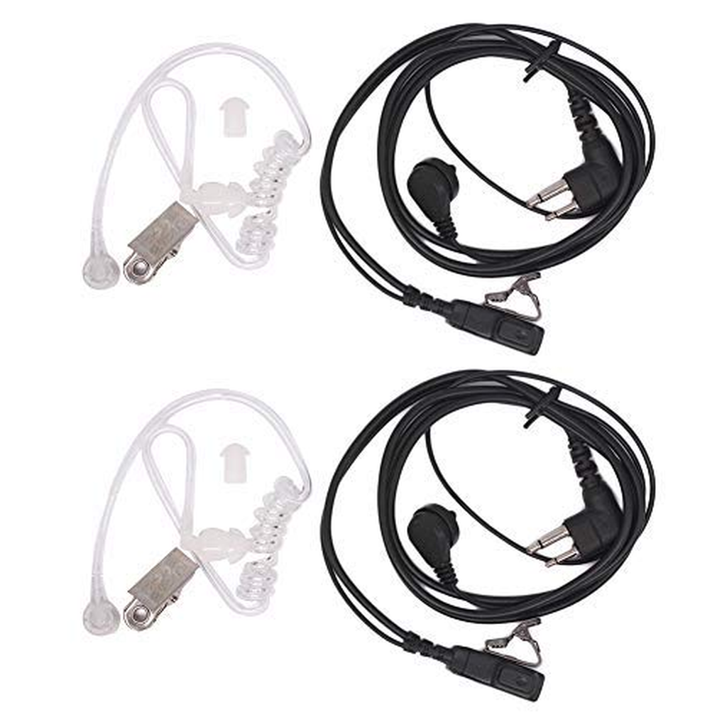 2Pin Earpiece Headset For Motorola CLS1110 CLS1410 BPR40 CP200 CP110 CP185 GP300