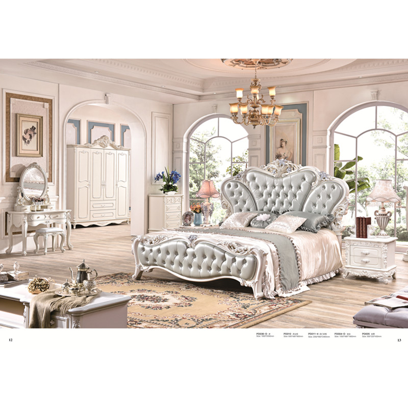 US 1299 0 0425 French Style Cheap Plywood Double Bed Designs In Bedroom Sets From Furniture On Alibaba Group