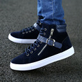 Tidog New men's high shoes casual shoes fashion trend of Korean students men fashion shoes