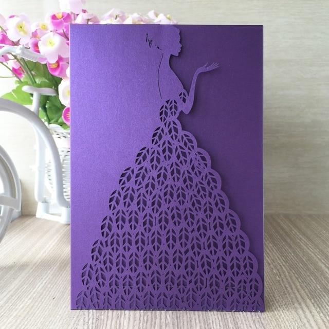 12 Teile Los 2017 Neueste Hochzeitskarte Braut Brautkleid Designs