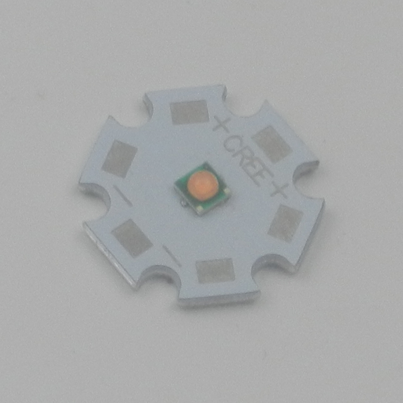 10PCS Bridgelux 3535 3W Full Spectrum 400nm-840nm Plant Grow Light LED Chip Spectrum Light Source With 16mm Or 20mm PCB