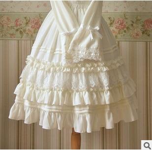 New women's skirts LOLITA girl free shipping Elastic yarn chiffon skirts