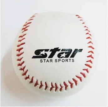 1 piece Beginner PVC Rubber soft safety baseball ball for child young men women safe