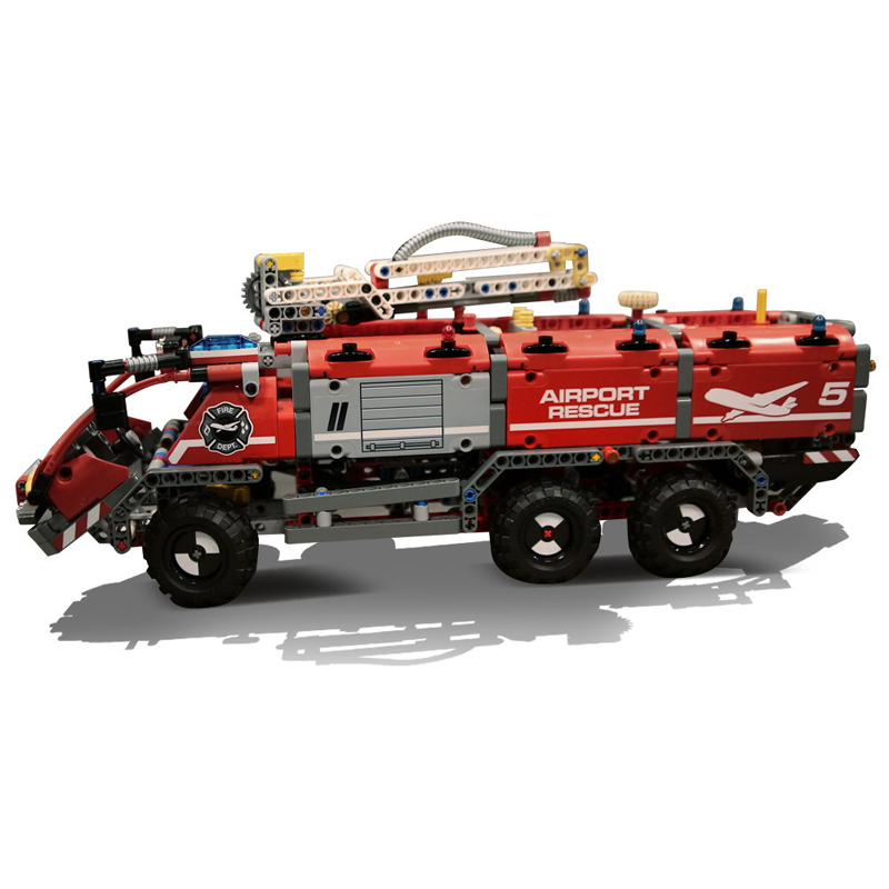 Lepin 20055 Genuine Technic Mechanical Series The Rescue Vehicle Set Children Educational Building Blocks Bricks Toys Gift the rescue