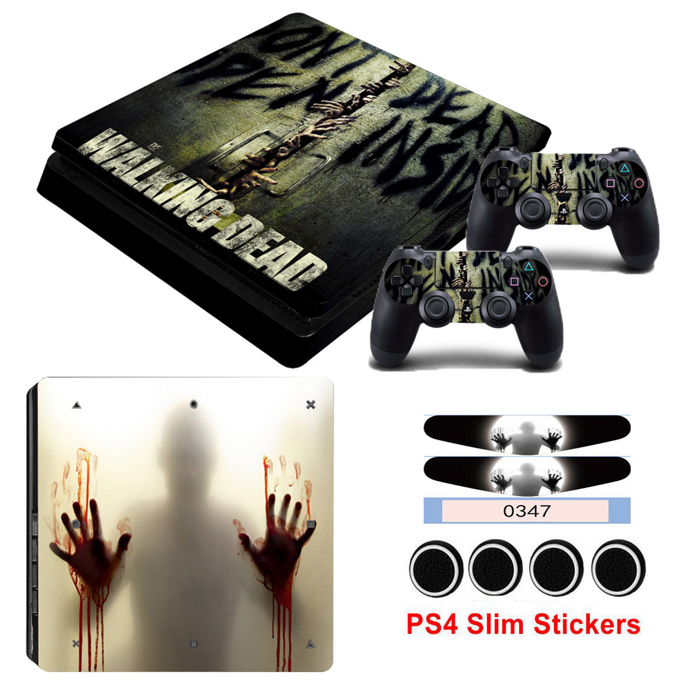 The Walking Dead Game Cover Skin For Playstation 4 Slim