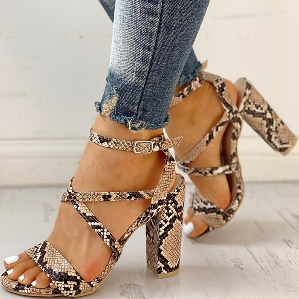 INS HOT big size 43 sandals Sexy cross-strap Summer high heels elegant women Shoes 2019 party date office lady sandals woman