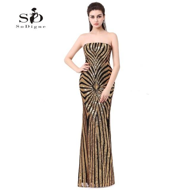 Cheap Mermaid Prom Dresses 2018 Sequin Dresses Vestidos De