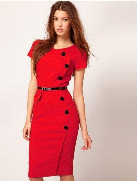 Aliexpress.com : Buy Vestidos Curtos Elegant Women Summer Formal ...