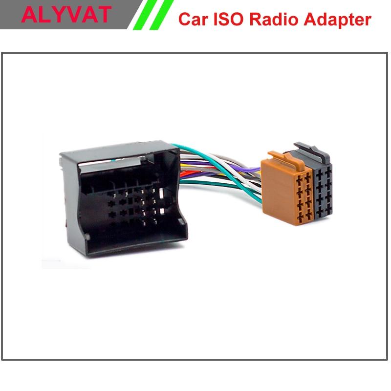 Adaptador de Rádio ISO carro Para Citroen C2 C3 C4 C5 Peugeot todos os Modelos de Auto Estéreo Conector do Chicote de Fiação Cabo de Alimentação Chumbo Loom plugue