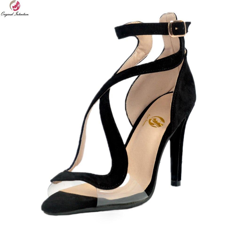 d6456d2a8cb9 Click here to Buy Now!! Первоначальное намерение Новые дизайнерские женские  босоножки ...