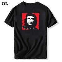 Эрнесто Гевара футболка Для мужчин хлопок Эль Че T Рубашки для мальчиков хлопок Для мужчин на лето и весну футболки с коротким рукавом кубин...