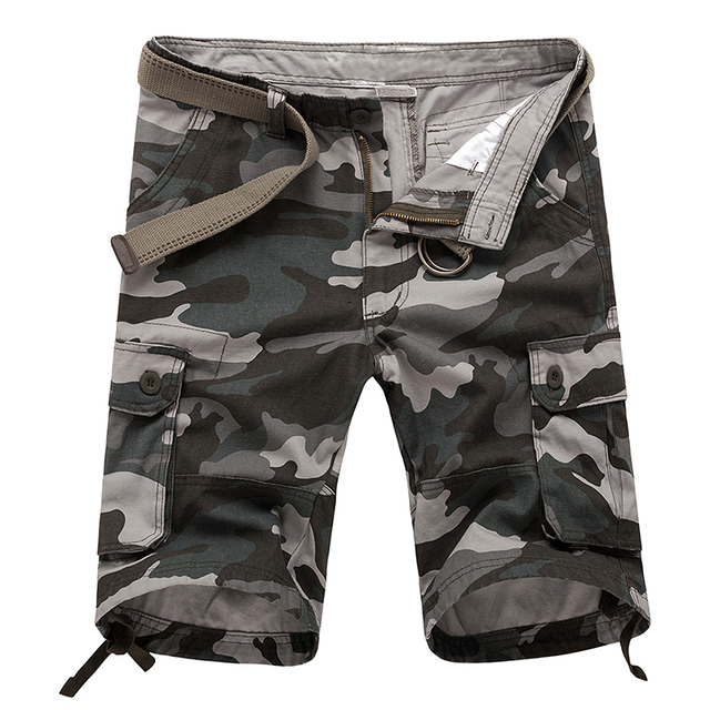 MOCH New Arrival Men board shorts camo Shorts casual shorts blue camouflage  green camouflage khaki camouflage 7 Sizes fc323192b8b
