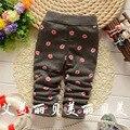 Outono e inverno Lip imprime crianças leggings grossas, Bebê calças leggings grossas, Calças # Z785
