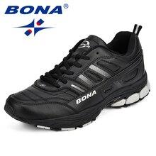 BONA 2018 New Men Running Shoes Comfortable Sports Shoes Men