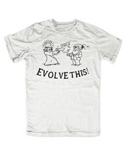Evolve this T-Shirt Darwin Jesus Paul der Alien Simon Pegg Nick Frost Fun  Free shipping Tops Fashion Classic Unique gift