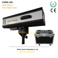 Litewinsune 2018 New 330W LED Follow Gobo Spot Focus Profile Theater Decoration instead 2500W Hologen Lighting