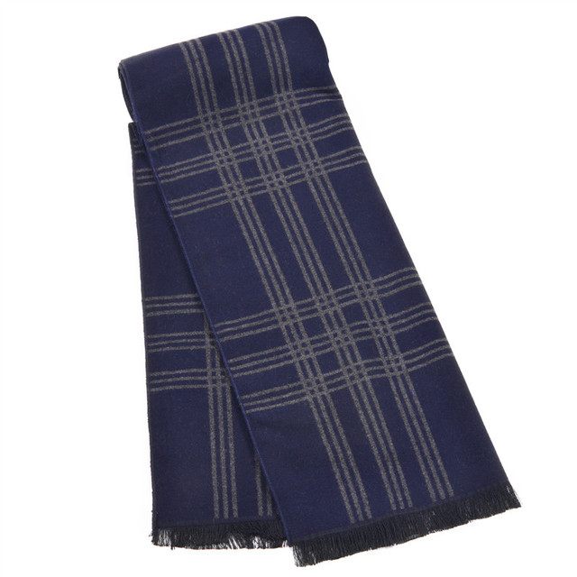 Зима мужчины полосатые шарфы и шали Люкс индия марка одеяло шарф écharpe платки wrap мужчины бизнес бандана кисти