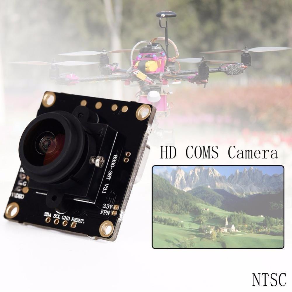800 TVL FPV HD COMS Camera 168 Degree Wide Angle Lens for Multicopters NTSC dalrc 800tvl fpv coms camera 2 5mm 120 degree lens 1 3 inch camera