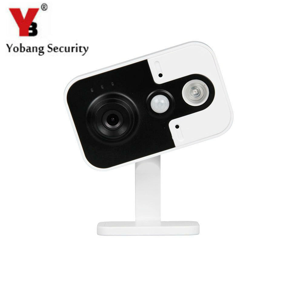 YobangSecurity Home Surveillance Security Wireless 720P IP Wifi Camera with IR-Cut P2P Push Alarm Two-way Audio Motion Detection