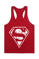2016 bodybuilding clothing superman vest good quality pure cotton summer wear work out fitness keep fit.jpg 250x250