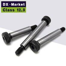 8mm M6 כתף ברגים ISO7379, class12.9 Hex Socket ראש צעד כתף בורג ISO7379, A008